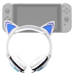 HOUSSE DE TRANSPORT Casque audio blanc lumineux pour Console de jeux N