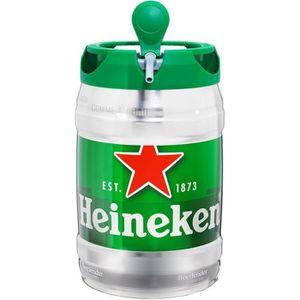 BIÈRE Heineken Fût Pression 5L (lot de 2)