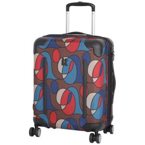 VALISE - BAGAGE Il bagages Valise, Wandering Line Print (Multicolo