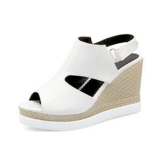 SANDALE - NU-PIEDS Chaussures Femmes d'été Sandales Wedges