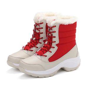 APRES SKI - SNOWBOOT Napoulen®Femmes bottes de neige d'hiver en peluche