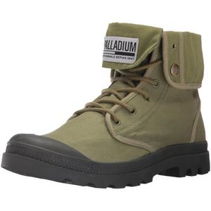 BOTTE Baggy Army Camp Chukka Boot Trng 3WF6FQ Taille-35