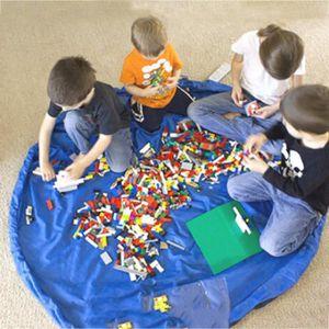 RANGE COUVERTS Portables Sac de rangement organisateur de jouets
