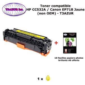 TONER Toner générique Canon EP718 Jaune pour imprimante