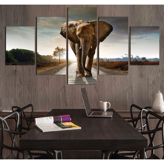 Salon décoration intérieure image peinture modulai