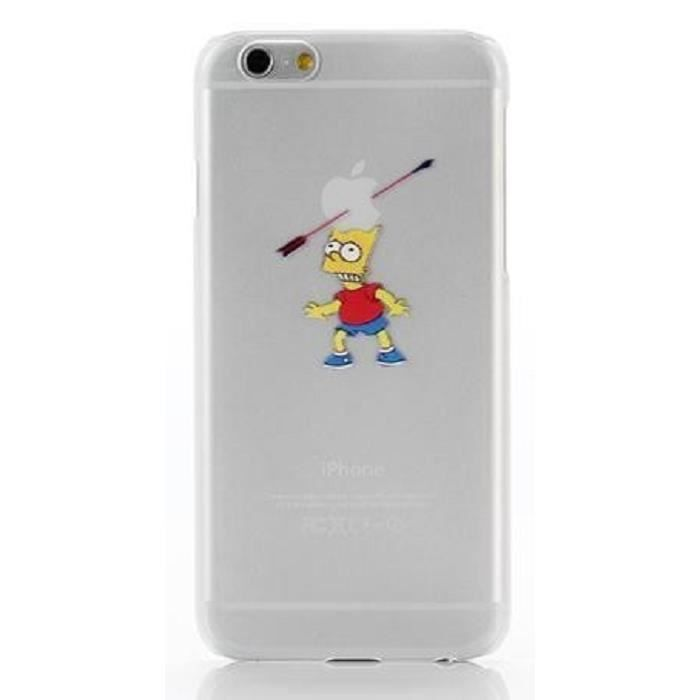 accessoires mobile coque apple iphone 6 bart simpsons. Black Bedroom Furniture Sets. Home Design Ideas