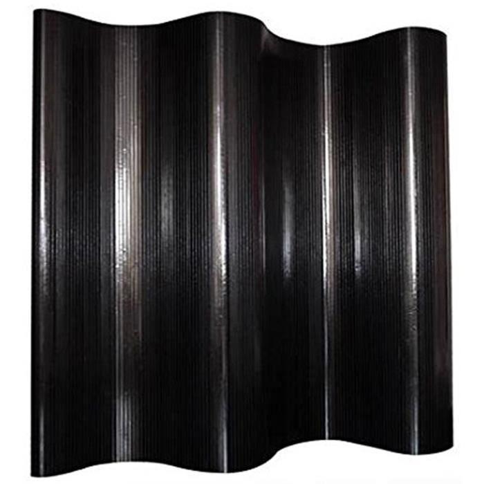 PARAVENT Paravent bambou Noir, 200 x 250 cm
