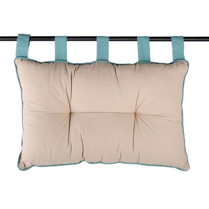tetes de lit avec coussins achat vente tetes de lit avec coussins pas cher soldes d s le. Black Bedroom Furniture Sets. Home Design Ideas