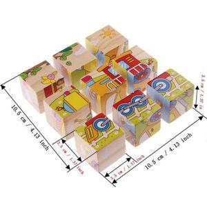 puzzle cube en bois achat vente jeux et jouets pas chers. Black Bedroom Furniture Sets. Home Design Ideas
