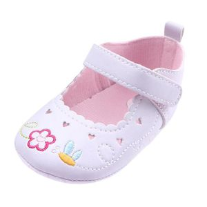 BOTTE Bébé nouveau-né bébé Floral Print Sneaker antidérapant doux Sole Toddler Chaussures@RoseHM FoGNI4