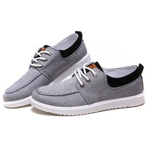 Chaussures En Toile Hommes Basses Quatre Saisons Populaire BMMJ-XZ114Bleu40 ZTTyZElQ9