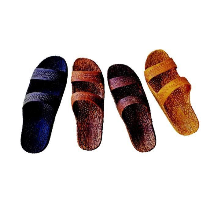 Sandales Jésus hawaïenne - jandals en 4 couleurs unisexe NBDKB Taille-39