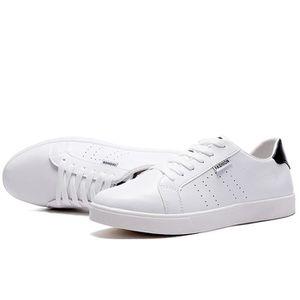 Chaussures De Sport Pour Hommes En Cuir Basket Populaire BWYS-XZ128Noir40 71daD