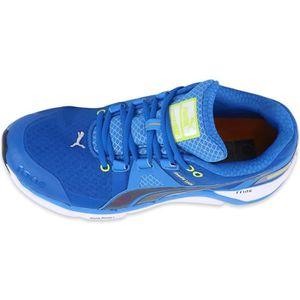 Puma Cabana Racer Mesh JR - Chaussures, Bleu Claro, Taille 38