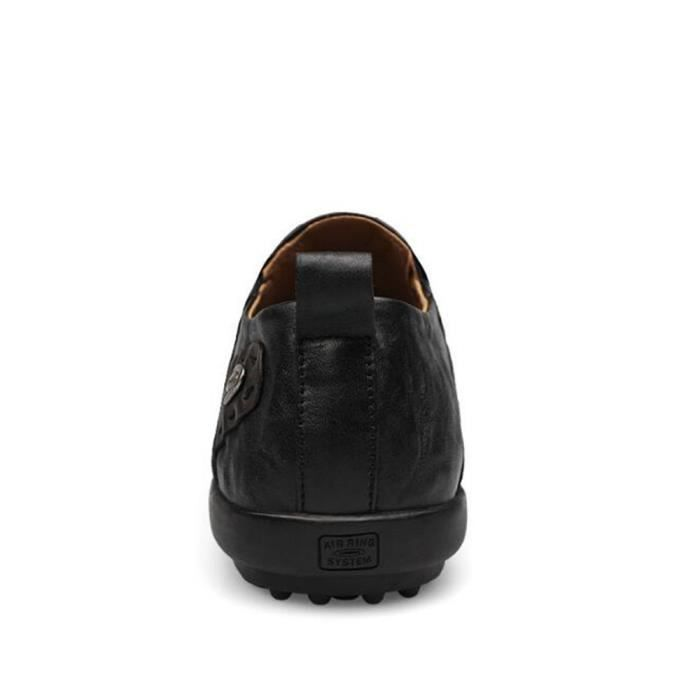 Chaussures pour hommes Cool des chaussure de conduite Poids Léger Moccasins homme Durable Antidérapant Moccasin à semelles souples