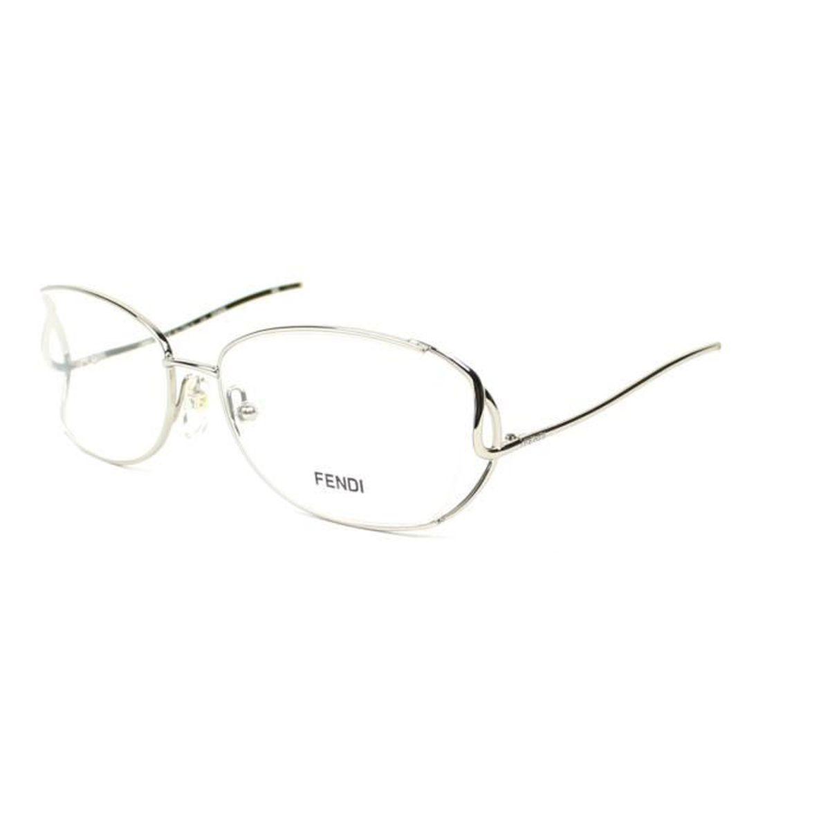 Lunettes de vue Fendi F902 -28 Argent - Blanc - Achat   Vente ... 48ccb5364b65