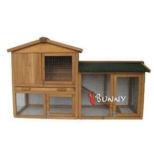 CAGE Bunny Business The Grove Clapier à deux étages av