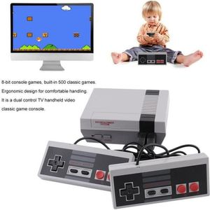 CONSOLE RÉTRO NES Rétro Mini TV console de jeu vidéo de poche in