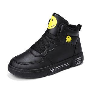 BASKET Basket Montantes Femme Chaussures Cuir Hiver Haut- 159fe2a7449f