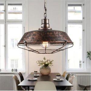 LUSTRE ET SUSPENSION Suspension Rétro Vintage Lustre Plafonnier Lampe L