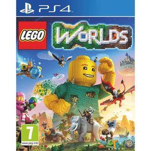 JEU PS4 LEGO Worlds Jeu PS4 + 2 LED Light Bar Skin