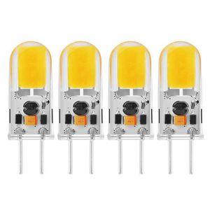 AMPOULE - LED Sunix 4pcs Ampoules COB LED 5W GY6.35, 270-300LM,