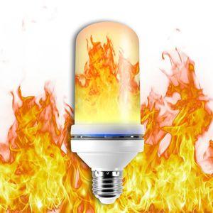 829edb63fba29 GUIRLANDE DE NOËL 1pcs Flamme Ampoule E27 Base Effet Scintillant Lu