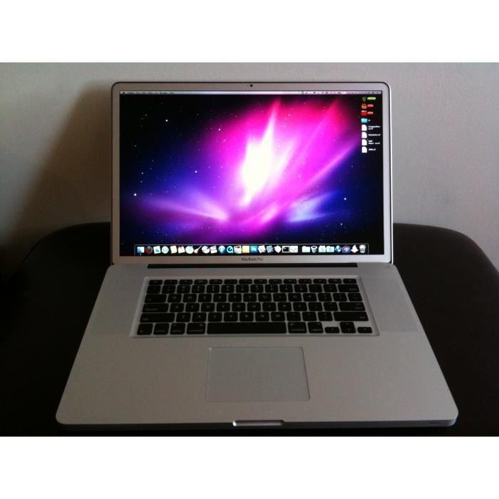 """ORDINATEUR PORTABLE Apple MacBook Pro 2,53 GHz SuperDrive 17"""" LED Core"""