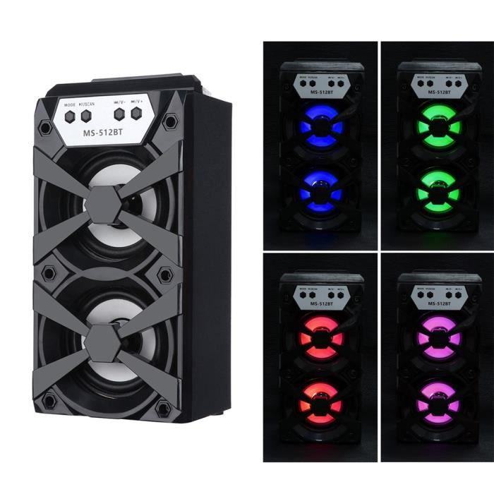 Extérieur Sans Fil Bluetooth Haut-parleur Portable Super Bass Avec Radio Usb - Tf Aux Fm @speaker754