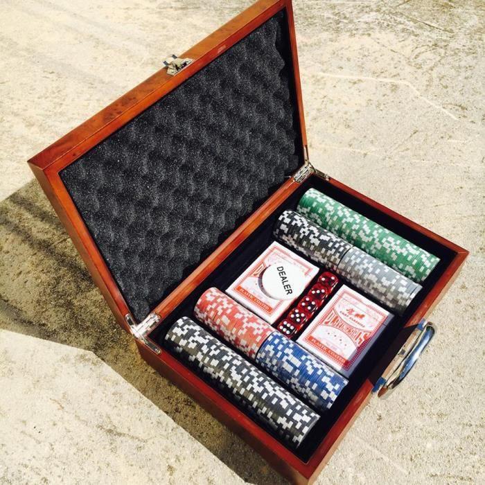 malette poker 300 jetons achat vente jeux et jouets pas chers. Black Bedroom Furniture Sets. Home Design Ideas