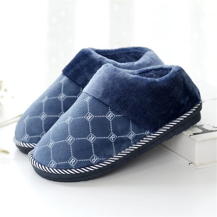gamme qualité velours luxe luxe plaid maison un pour de le lumière Haut avec de hommes chaleureuse et traîne confortable chaussures 58qHxwR1