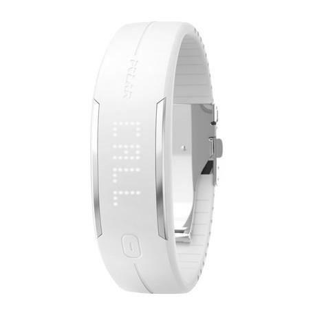 MONTRE OUTDOOR - MONTRE MARINE POLAR Bracelet Connecté Loop 2 Blanc