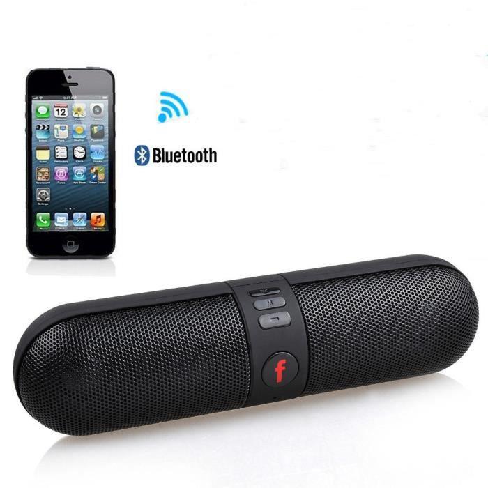 Portable Sans Fil Bluetooth Haut-parleur Bass Récepteur Smartphone Android