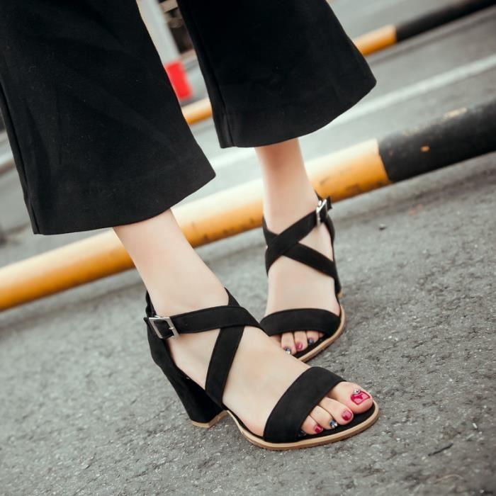 Des chaussures à talons hauts Sandale Les Chaussures pour Femmes À bout ouvert chaussures à talons hauts sandales …