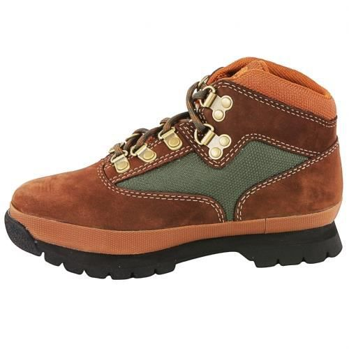 Euro Hiker Chaussure Garcon A125c leather brown