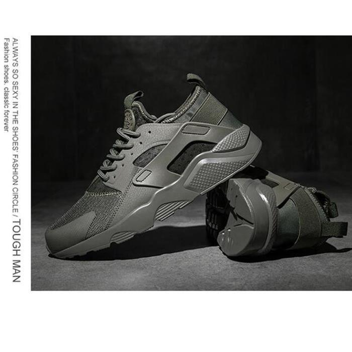 Basket Hommes et femmes chaussures de sport Chaussures de course Respirant- CasualChaussures - Vert