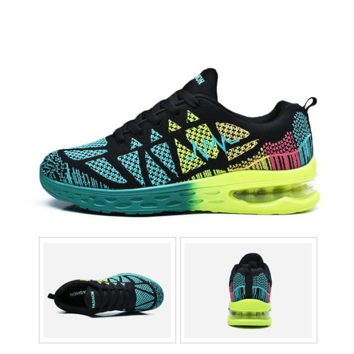 Baskets chaussures sport homme femme sneakers air mode 44PxLD