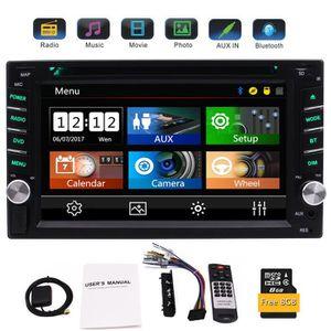 AUTORADIO EinCar Double 2 stéréo voiture GPS Din DVD Lecteur