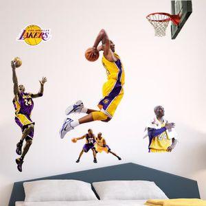 timeless design 79ccf 6aa1e STICKERS NBA autocollants muraux célébrité haute Bryant Kob
