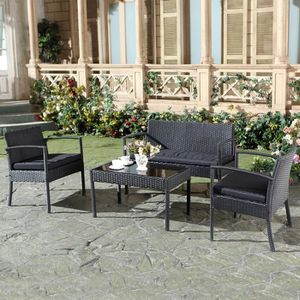 Salon De Jardin Mykonos. Perfect Table De Jardin Mykonos Aluminium ...