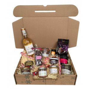 "COFFRET CADEAU GOURMAND Coffret Gourmand ""Gastronomie Made in France"""