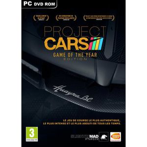 JEU PC PROJECT CARS GAME OF THE YEAR EDITION PC UK