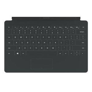 CLAVIER D'ORDINATEUR Microsoft clavier Touch Cover 2 Noir