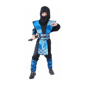 DÉGUISEMENT - PANOPLIE Déguisement de Ninja bleu garçon