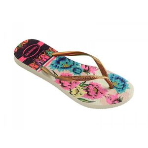 TONG havaianas tong femme slim tropical multicolore - C