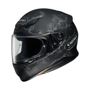 CASQUE MOTO SCOOTER Casque moto Shoei NXR Ruts TC-5 Noir