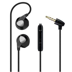 CASQUE - ÉCOUTEURS Ecouteurs pour BLACKBERRY Leap avec Micro Réglage