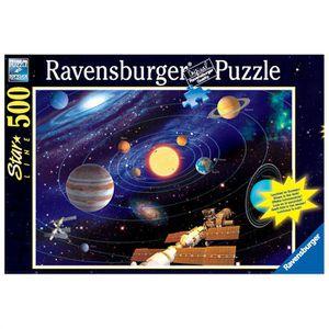 PUZZLE PuzzleStar Line Système Solaire 500p - Fluorescent
