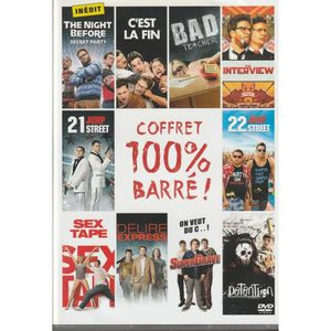 DVD FILM COFFRET 100% Barré ! 10 FILMS