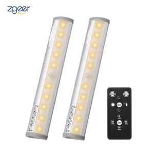 LAMPE A POSER 2Pcs Lampe de Placard, Lampe sans fil Télécommandé
